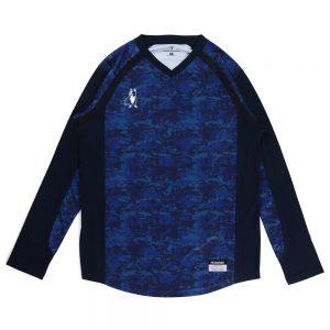 BUHI+2 ロングプラシャツ(ネイビー)