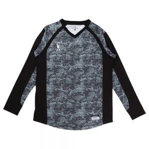 BUHI+2 ロングプラシャツ(グレー)