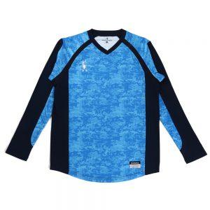 BUHI+2 ロングプラシャツ(スカイブルー)