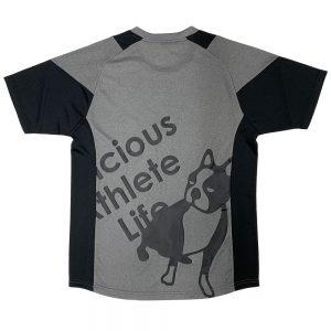 瞬発力+3プラシャツ(ヘザーグレー)