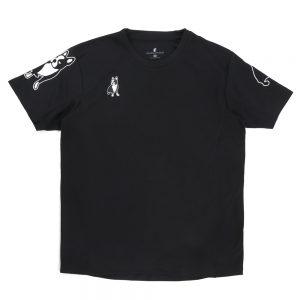 ぼちぼち+9ゲームシャツ(ブラック)