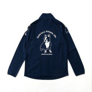 愛してマスカット+2トレーニングジャケット(ネイビー)
