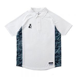 トレーナー+7Dryストレッチポロシャツ(ホワイト)