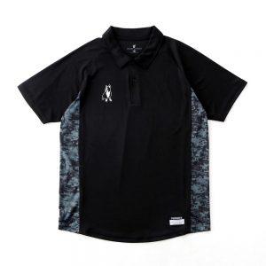 トレーナー+7Dryストレッチポロシャツ(ブラック)