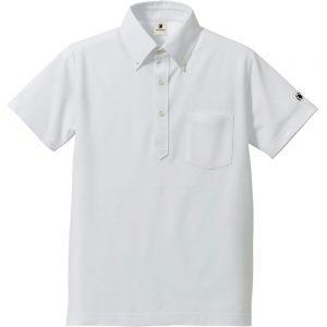 かしこさ+5ポロシャツ(ホワイト)