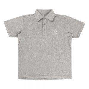 Feint+1パイルポロシャツ(グレー)