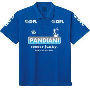 DFL POLO ポリポロシャツ (ブルー)