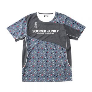 ドリブル力+1プラシャツ(ヘザーグレー)