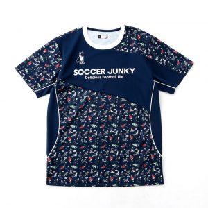 ドリブル力+1プラシャツ(ネイビー)