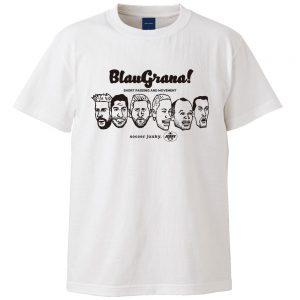 BlauGrana!半袖TEE(ホワイト)