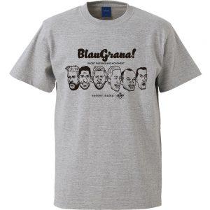 BlauGrana!半袖TEE(ヘザーグレー)