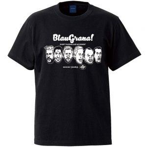 BlauGrana!半袖TEE(ブラック)