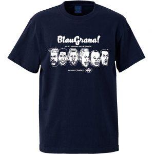 BlauGrana!半袖TEE(ネイビー)