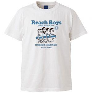 Reach Boys半袖TEE(ホワイト)