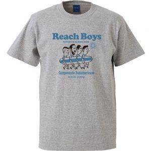 Reach Boys半袖TEE(ヘザーグレー)