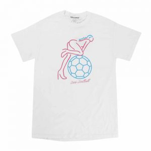 sexy football+6半袖TEE(ホワイト)