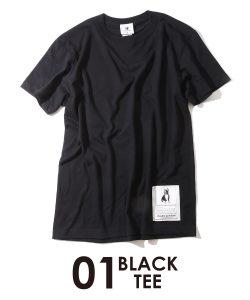 Big!Dog!+1半袖TEE(ブラック)