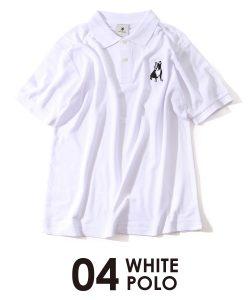 パイドポロシャツ(ホワイト)
