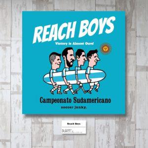 REACH BOYS アートパネル