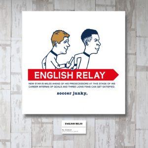 ENGLISH RELAY アートパネル