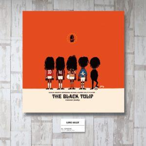 THE BLACK TULIP アートパネル